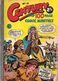 Century the 100 Page Comic Monthly (Colour Comics, 1956 series) #21 — The Revenge of the Girl Chief!