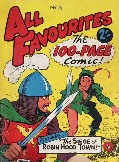 All Favourites, The 100-Page Comic (Colour Comics, 1958 series) #3 ([January 1958?])