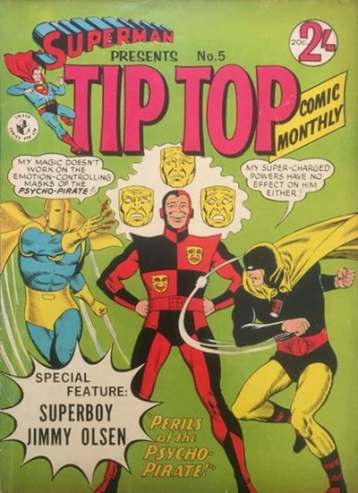 Superman Presents Tip Top Comic Monthly (Colour Comics, 1965 series) #5 ([September 1965?])