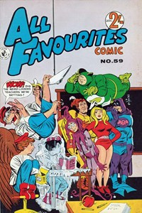 All Favourites Comic (Colour Comics, 1960 series) #59 — Untitled