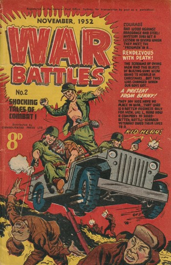 War Battles (Red Circle, 1952 series) #2 (November 1952)
