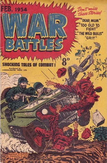 Shocking Tales of Combat! (Cover)