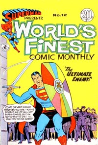Superman Presents World's Finest Comic Monthly (Colour Comics, 1965 series) #12 ([April 1966?])