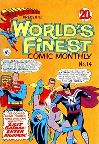 Superman Presents World's Finest Comic Monthly (Colour Comics, 1965 series) #14 ([June 1966?])