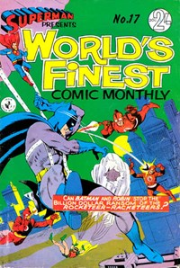Superman Presents World's Finest Comic Monthly (Colour Comics, 1965 series) #17 ([September 1966?])