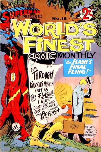 Superman Presents World's Finest Comic Monthly (Colour Comics, 1965 series) #18 ([October 1966?])