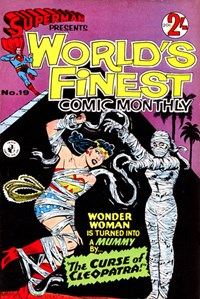 Superman Presents World's Finest Comic Monthly (Colour Comics, 1965 series) #19 ([November 1966?])