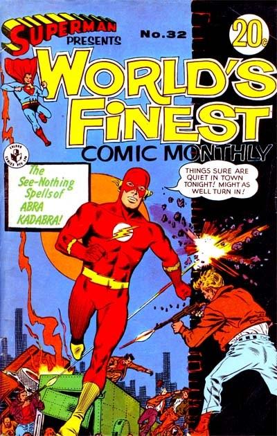 Superman Presents World's Finest Comic Monthly (Colour Comics, 1965 series) #32 ([December 1967?])