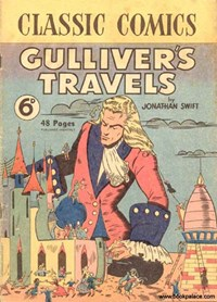 Classic Comics (Ayers & James, 1947 series) #1 ([July 1947?]) —Gulliver's Travels