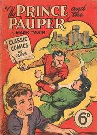 Classic Comics (Ayers & James, 1947 series) #9 (March 1948) —The Prince and the Pauper