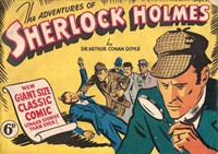 Classic Comics (Ayers & James, 1947 series) #13 ([July 1948?]) —The Adventures of Sherlock Holmes