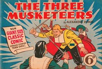 Classic Comics (Ayers & James, 1947 series) #15 ([1948?]) —The Three Musketeers