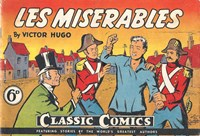 Classic Comics (Ayers & James, 1947 series) #19 ([January 1949?]) —Les Miserables