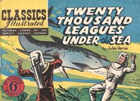 Classics Illustrated (Ayers & James, 1949 series) #23 ([May 1949?]) —Twenty Thousand Leagues Under the Sea