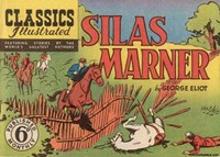 Classics Illustrated (Ayers & James, 1949 series) #27 ([September 1949?]) —Silas Marner