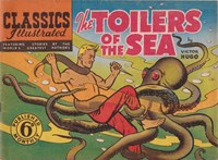 Classics Illustrated (Ayers & James, 1949 series) #29 ([November 1949?]) —The Toilers of the Sea