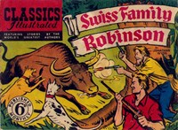 Classics Illustrated (Ayers & James, 1949 series) #33 ([March 1950?]) —Swiss Family Robinson