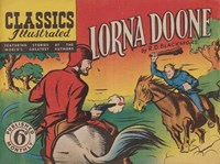 Classics Illustrated (Ayers & James, 1949 series) #34 — Lorna Doone by R. D. Blackmore