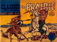 Classics Illustrated (Ayers & James, 1949 series) #36 ([June 1950?]) —The Prairie