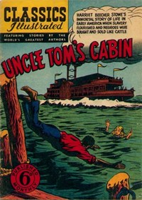 Classics Illustrated (Ayers & James, 1949 series) #37 ([July 1950?]) —Uncle Tom's Cabin