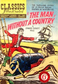 Classics Illustrated (Ayers & James, 1949 series) #39 ([September 1950?]) —The Man Without a Country