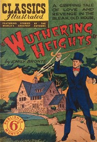 Classics Illustrated (Ayers & James, 1949 series) #42 ([December 1950?]) —Wuthering Heights