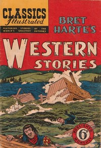 Classics Illustrated (Ayers & James, 1949 series) #43 ([January 1951?]) —Bret Harte's Western Stories