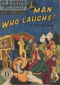 Classics Illustrated (Ayers & James, 1949 series) #46 ([April 1951?]) —!The Man Who Laughs