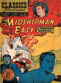 Classics Illustrated (Ayers & James, 1949 series) #50 ([August 1951?]) —Mr. Midshipman Easy