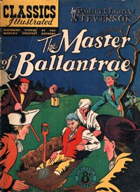 Classics Illustrated (Ayers & James, 1949 series) #57 ([March 1952?]) —The Master of Ballantrae