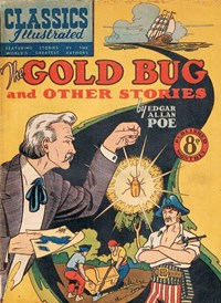 Classics Illustrated (Ayers & James, 1949 series) #59 ([May 1952?]) —The Gold Bug and Other Stories