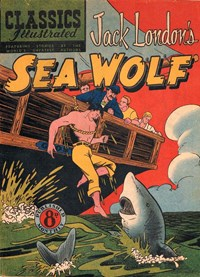 Classics Illustrated (Ayers & James, 1949 series) #60 ([June 1952?]) —Sea Wolf