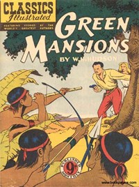 Classics Illustrated (Ayers & James, 1949 series) #64 ([October 1952?]) —Green Mansions