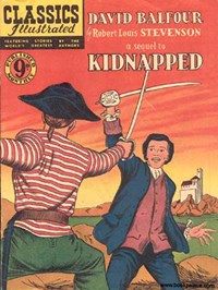 Classics Illustrated (Ayers & James, 1949 series) #66 ([December 1952?]) —Kidnapped