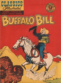 Classics Illustrated (Ayers & James, 1949 series) #69 ([March 1953?]) —Buffalo Bill