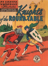 Classics Illustrated (Ayers & James, 1949 series) #70 ([April 1953?]) —Knights of the Round Table