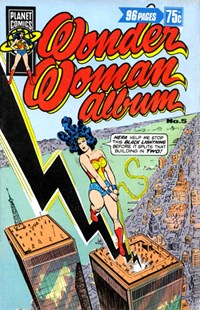 Wonder Woman Album (KG Murray, 1976 series) #5 ([October 1977?])