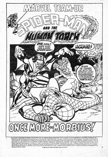 Once More--Morbius!