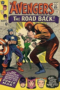 The Avengers (Marvel, 1963 series) #22 — The Road Back!