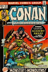 Conan the Barbarian (Marvel, 1970 series) #21 (December 1972)