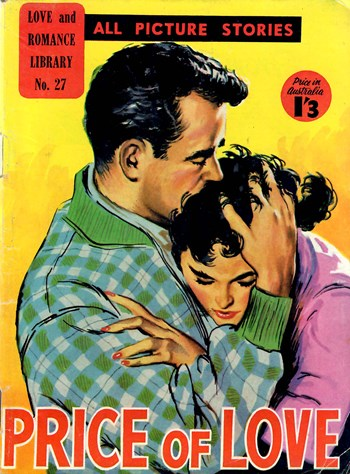 Love and Romance Library (Blue Diamond, 1955? series) #27 ([1956?])