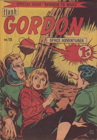 Flash Gordon Space Adventurer (Yaffa/Page, 1965 series) #15 — Mission to Mars