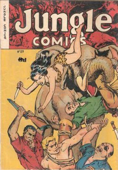 Jungle Comics (HJ Edwards, 1950? series) #29 ([1953?])