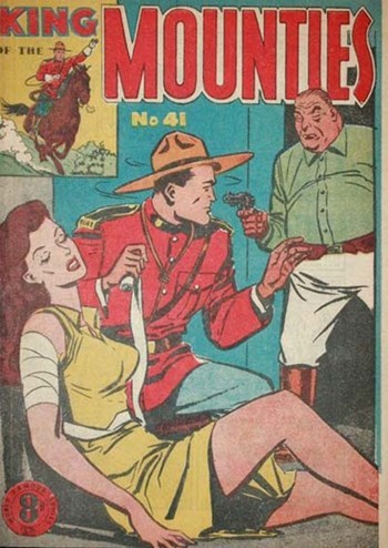 King of the Mounties (Atlas, 1950 series) #41 ([April 1954?])