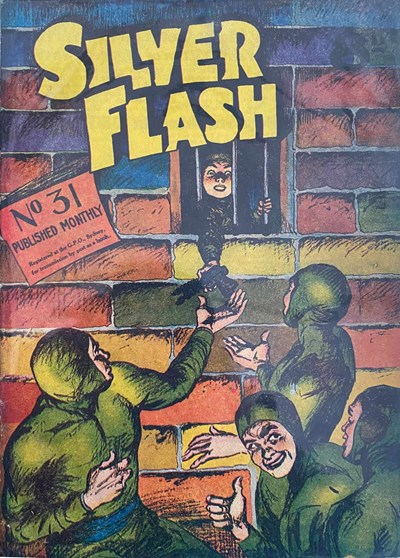 Silver Flash and his Frog-Men (Invincible, 1949 series) #31 ([December 1952?])