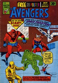 The Avengers (Newton, 1975 series) #2 — The Space Phantom
