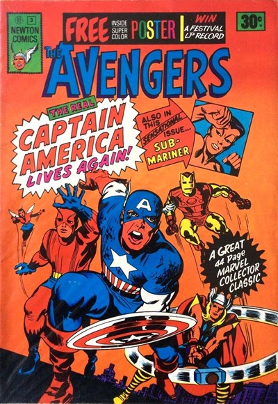 The Avengers (Newton, 1975 series) #3 ([August 1975?])