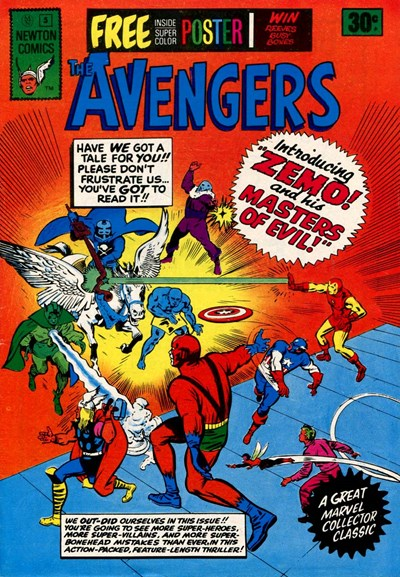 The Avengers (Newton, 1975 series) #5 ([September 1975?])
