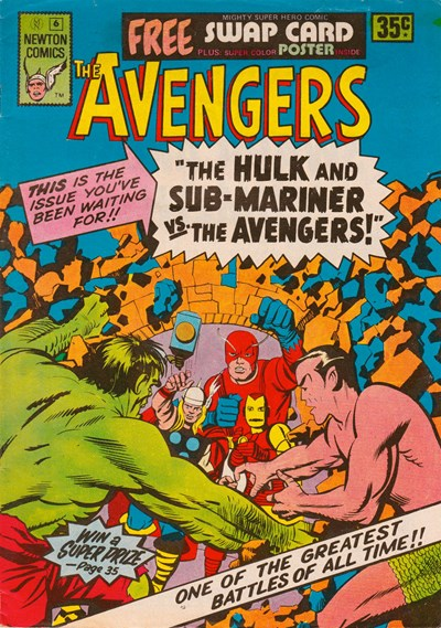 The Avengers (Newton, 1975 series) #6 ([September 1975])