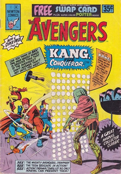 The Avengers (Newton, 1975 series) #8 (18 October 1975)